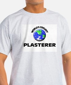 World's Coolest Plasterer T-Shirt