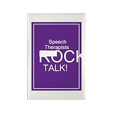 Speech Therapists Talk Rectangle Magnet (10 pack)