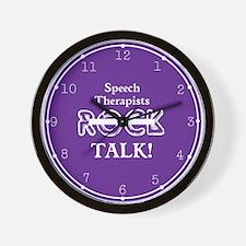 Speech Therapists Talk Wall Clock