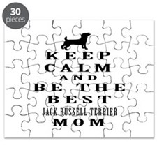 Keep Calm Jack Russell Terrier Designs Puzzle