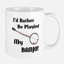 Playing My Banjo Mug