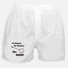 Playing My Banjo Boxer Shorts