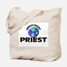 World's Coolest Priest Tote Bag