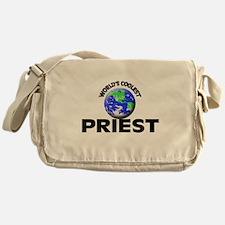 World's Coolest Priest Messenger Bag