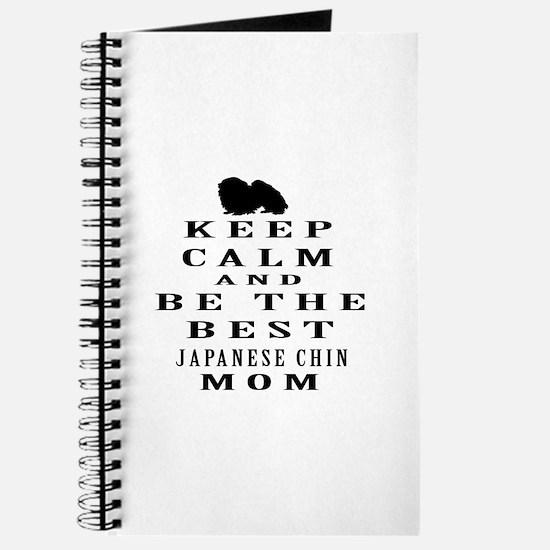 Keep Calm Japanese Chin Designs Journal