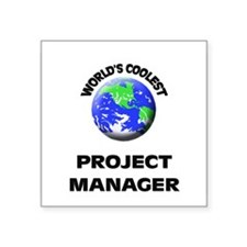 World's Coolest Project Manager Sticker