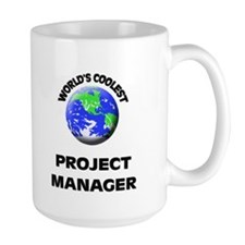World's Coolest Project Manager Mug