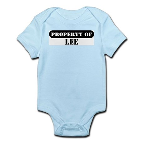 Property of Lee Infant Bodysuit