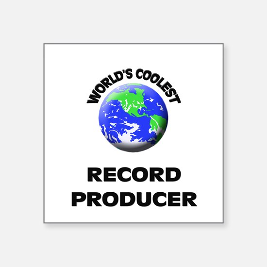 World's Coolest Record Producer Sticker