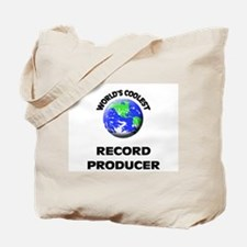 World's Coolest Record Producer Tote Bag