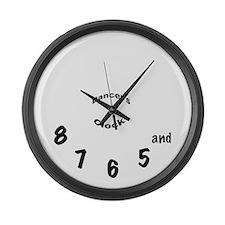 Dancer's Large Wall Clock