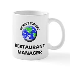 World's Coolest Restaurant Manager Mug
