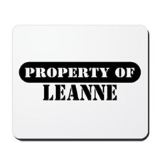 Property of Leanne Mousepad