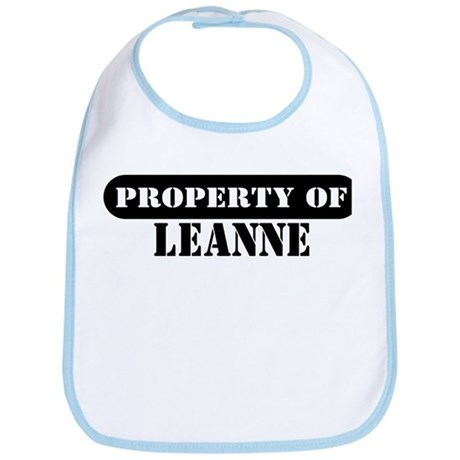 Property of Leanne Bib