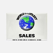 World's Coolest Sales Executive Rectangle Magnet