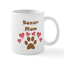 Boxer Mom Small Mug