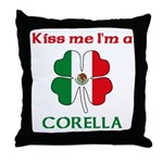 Corella Family Throw Pillow