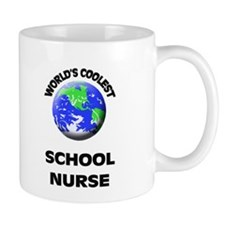 World's Coolest School Nurse Mug