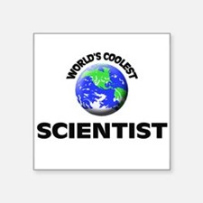 World's Coolest Scientist Sticker