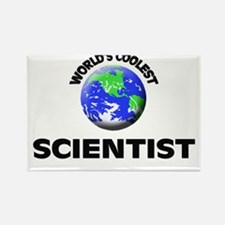 World's Coolest Scientist Rectangle Magnet