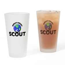 World's Coolest Scout Drinking Glass