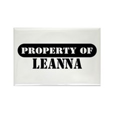 Property of Leanna Rectangle Magnet