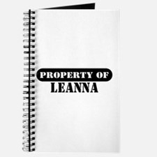 Property of Leanna Journal