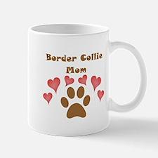 Border Collie Mom Small Mug