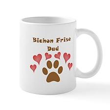 Bichon Frise Dad Small Mug