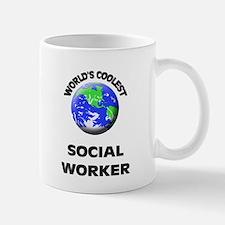 World's Coolest Social Worker Mug