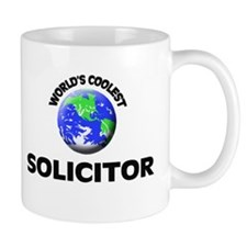 World's Coolest Solicitor Small Mug