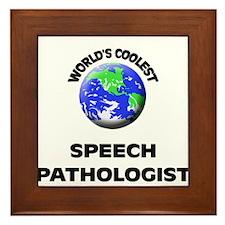 World's Coolest Speech Pathologist Framed Tile