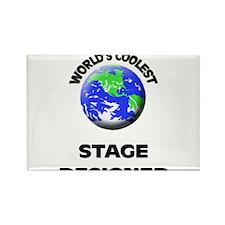 World's Coolest Stage Designer Rectangle Magnet