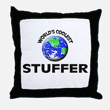 World's Coolest Stuffer Throw Pillow