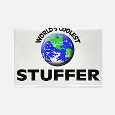 World's Coolest Stuffer Rectangle Magnet