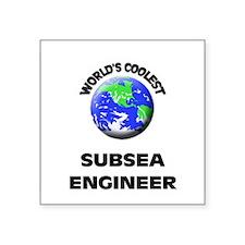 World's Coolest Sub Sea Engineer Sticker
