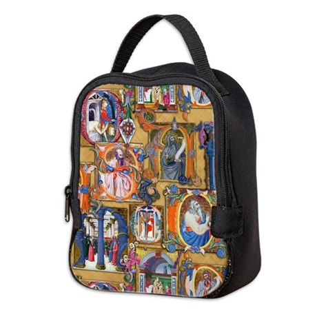 Medieval Illuminations Neoprene Lunch Bag
