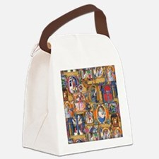 Medieval Illuminations Canvas Lunch Bag
