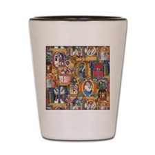 Medieval Illuminations Shot Glass