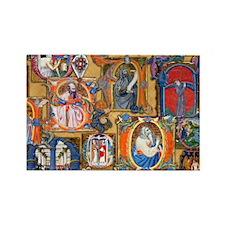 Medieval Illuminations Rectangle Magnet