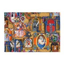 Medieval Illuminations 5'x7'Area Rug