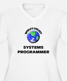 World's Coolest Systems Programmer Plus Size T-Shi