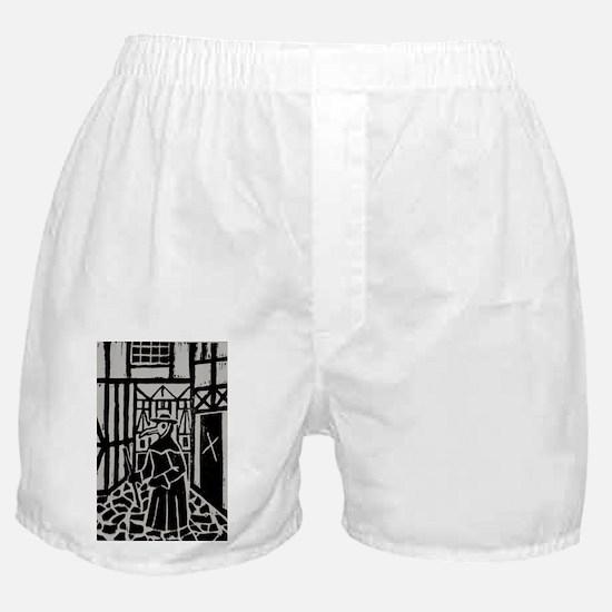 The Plague Doctor Boxer Shorts
