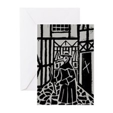 The Plague Doctor Greeting Cards (Pk of 20)