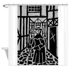 The Plague Doctor Shower Curtain