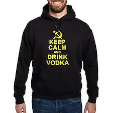Keep Calm and Drink Vodka Hoodie