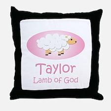 Lamb of God - Taylor Throw Pillow