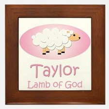 Lamb of God - Taylor Framed Tile