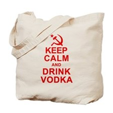 Keep Calm and Drink Vodka Tote Bag