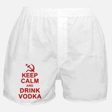 Keep Calm and Drink Vodka Boxer Shorts